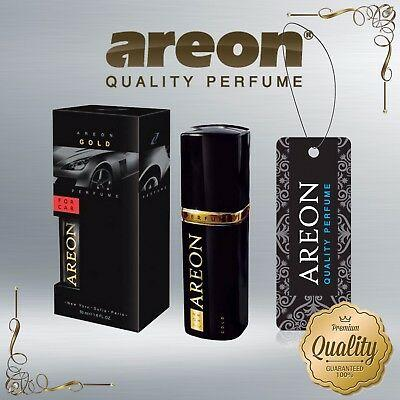 Cheap Chip אביזרי פנים לרכב Areon Luxury Car Perfume Long Lasting Air Freshener TOP QUALITY - GOLD 50ml NEW